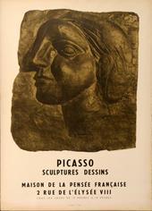 PabloPICASSO, Sculpture dessins