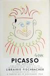 PabloPICASSO, Libraire Fischbacher PICASSO 100 Affiches