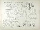 PabloPICASSO, Mes dessins d'Antibes