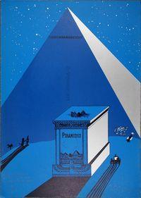 EduardoARROYO, W. Churchill, Napoleone e Saul Steinberg all'ombra delle Piramidi a mezzanotte