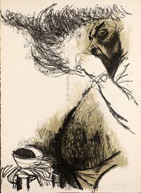 CarloMATTIOLI, Ritratto di Renato Guttuso