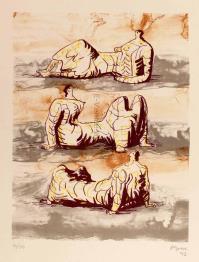HenryMOORE, three reclining figures