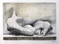 Henry MOORE, Reclining Figure - left