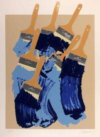 serigrafia calcografica originale numerata e firmata. - tiratura: 50 . - carta Rosaspina Fabriano 100 x 70 cm. tiratura limitata a 50 esemplari