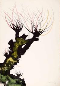 CarloMATTIOLI, Gli alberi II (dalla cartella acquarellata)