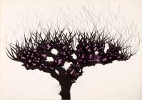 CarloMATTIOLI, Gli alberi IV (dalla cartella acquarellata)