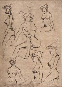 MarcelloFANTONI, Studi di modella