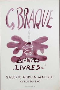 Original affiche lithography. - on paper  60 x 40 cm (23.62x15.75 inches). -   Atelier Mourlot, Paris