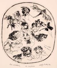 WalterPIACESI, Le rose di Lilli (Rose e libellule))