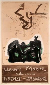 Henry MOORE, SCULPTURE AND DRAWINGS