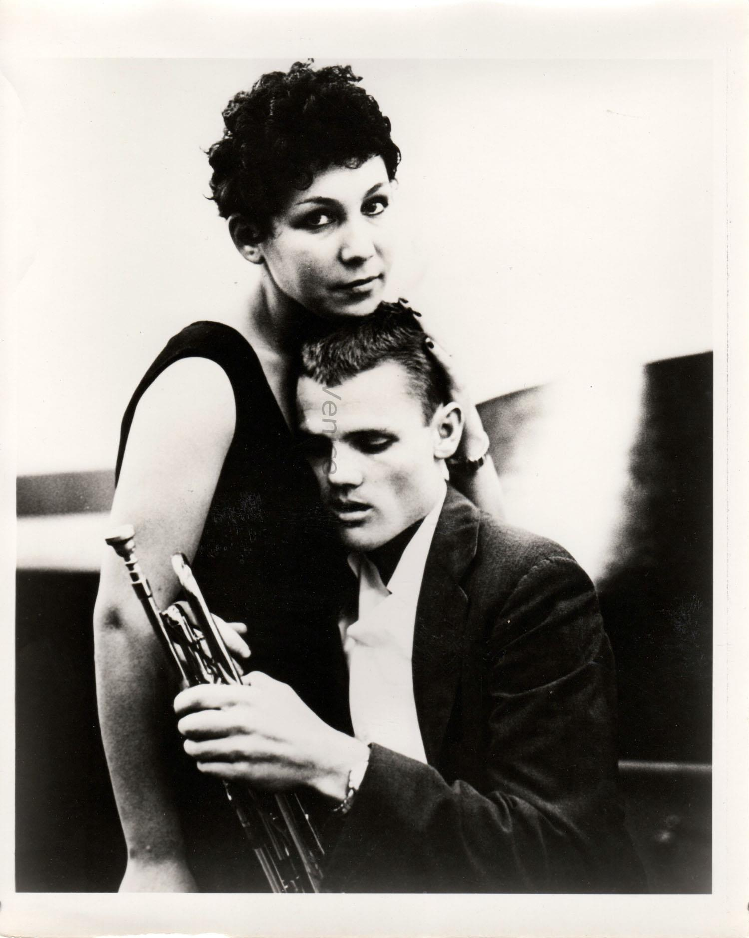 Chet Baker and his second wife Halema Alli