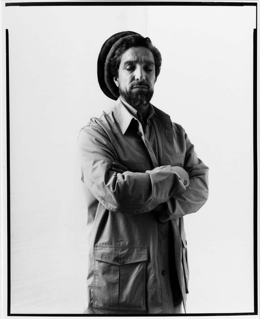 Le commandant Ahmad Shah Massoud, Paris